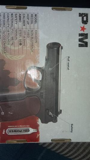 Air pistol gas gun
