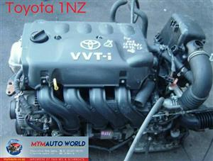 Imported used  TOYOTA YARIS/COROLLA 1.5L, 1NZ engine Complete