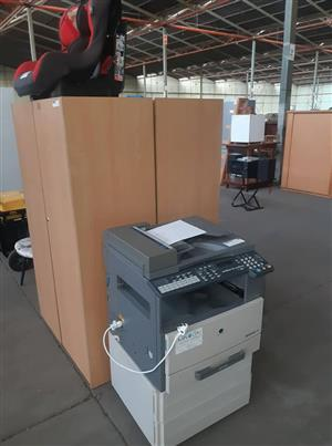 Large printer,fax,scanner and copier