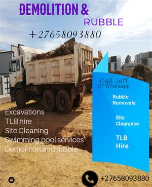 Jeffy Rubble removals and demolition