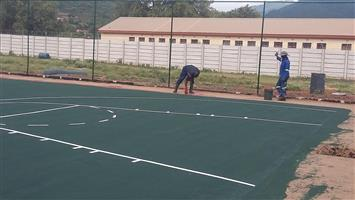 Basketball Courts Crack Repairs