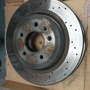 brake Disc and pads for Opel Astra OPC