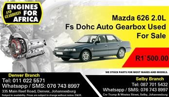 Mazda 626 2.0L Fs Dohc Auto Gearbox Used For Sale