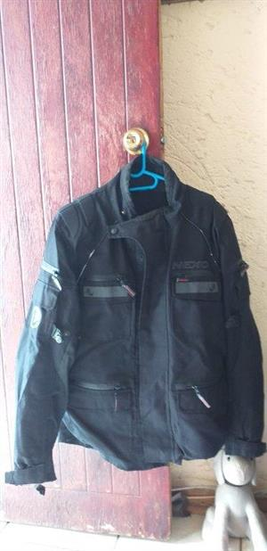 Bike jackets (L), Nexo, Gloves, Balaclava and Reflector Vest for sale