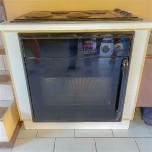 Defy 4 plate stove/oven