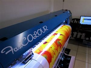 F-1863/ECO/DX7 FastCOLOUR 1860mm EPSON® DX7 Printhead Large-Format ECO Solvent Ink Inkjet