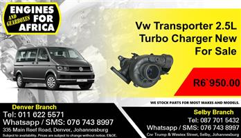 Vw Transporter 2.5 Turbo Charger New For Sale