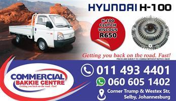 hyundai h100 viscous clutch