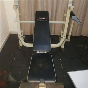 Trojan Armour 500 Gym Bench, used for sale  Boksburg