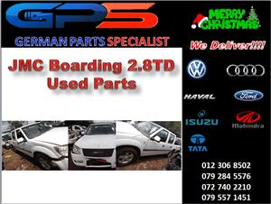 JMC Boarding 2.8TD Used Parts for Sale