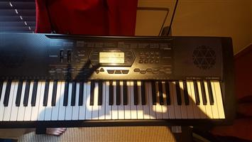 Casio CTK3000 Keyboard with stand