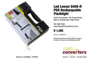 Led Lenser 8405-R PSR Rechargeable Flashlight