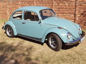 Volksawagen Beetle with Rostyle wheels