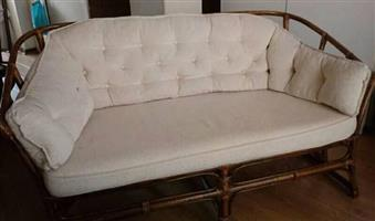Cane Couch Two Seater