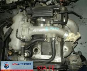 Imported used  KIA SPORTAGE 1.9L, FE engines Complete
