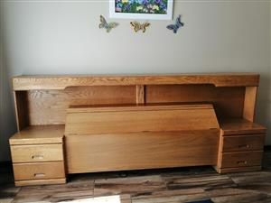 Soild Oak King/Queen Headboard