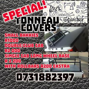 Tonneau Covers - Lene's Sewing and Upholstery
