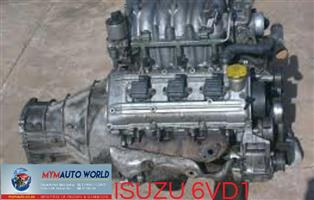 Imported usedISUZU VEHICROSS 3.2L V6, 6VD1 DOHC engines