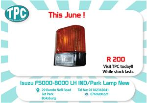 Isuzu F5000-8000 LH IND/Park Lamp New for Sale at TPC