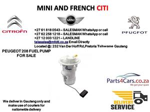 Peugeot 208 Fuel pump for sale