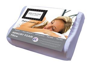 Memory Foam Pillows - classic and contour shape!