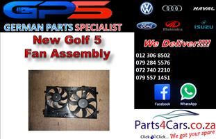 New VW Golf 5 Fan Assembly for Sale