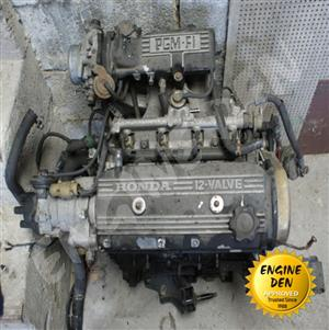HONDA 1.5 12V EW USED ENGINE P.O.A