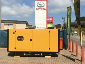 New 100kVA generator
