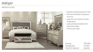 PERILLI Bellagio Bedroom Suite