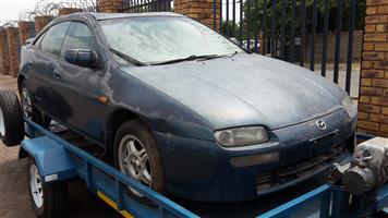 Mazda Astina 180SE stripping for spare parts