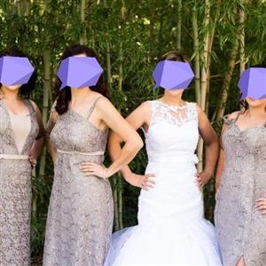 3 Bridesmaids dresses