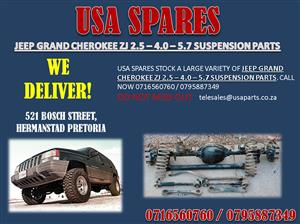JEEP GRAND CHEROKEE ZJ 2.5 – 4.0 – 5.2 USED SUSPENSION PARTS FOR SALE