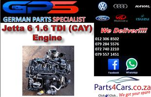 VW Jetta 6 1.6 TDI (CAY) Engine for Sale