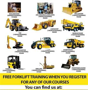 DUMP TRUCK,BULL DOZER,EXCAVATOR ACCREDITED TRAINING INSTITUTE IN GAUTENG,KEMPTON PARK,GERMISTON,PORT ELIZABETH CALL +27603309160