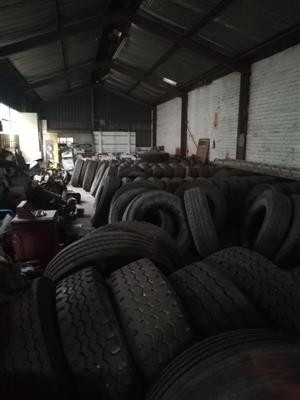 Used truck and trailer tyres for sale
