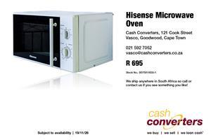 Hisense Microwave Oven