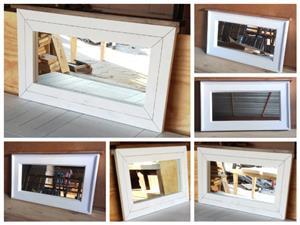 Mirror Farmhouse series 900 Two tone