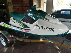 Yamaha Waveblaster 2 760 Jetski to swap for 4 wheeler(quad) on smaller than a 450cc in same condition.Please be sure that ownership can be proofed