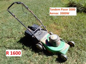 Tandem Lawnmower 2000W