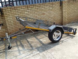 Easy load trailer