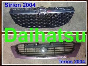 Daihatsu Sirion and Terios grill