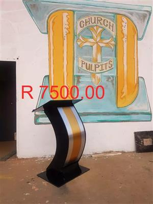 Custom Made Pulpit
