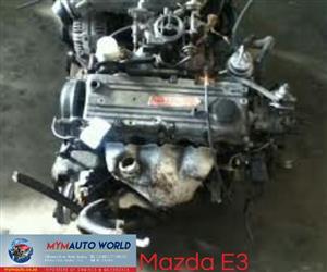 Imported used MAZDA FAMILIA/GLC 1.3L FWD, E3 engine Complete