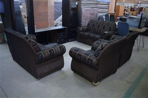 4 Piece brown sequence lounge for sale