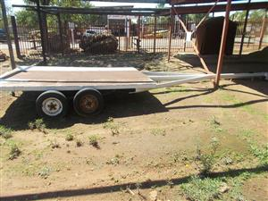 Heavy duty Trailer with long goose neck