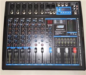 Hybrid 6 Line Non-Powered Mixer M602UBTX