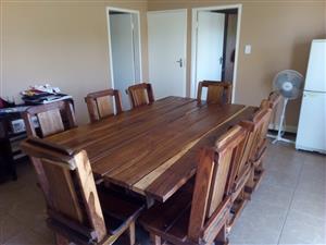 8seat diningroom suite