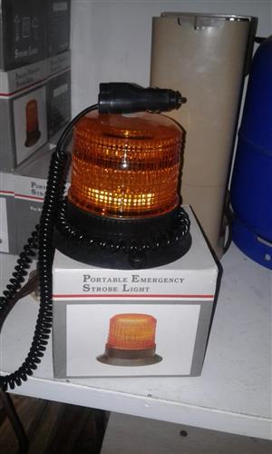 Portable emerency strobe lights