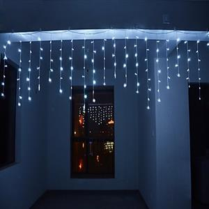 LED Decorative Fairy Curtain Lights Waterproof 220V AC in COOL WHITE. Brand New Products.