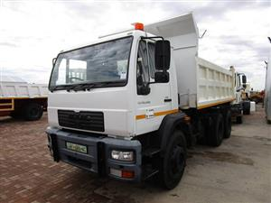 MAN LE26.280 Tipper Truck - ON AUCTION